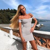 Summer Women Sexy Bandage Bodycon Dress