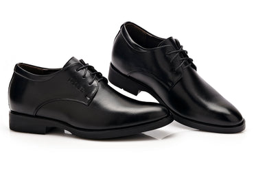New Men Dress shoes Height increasing 6cm Classic wedding