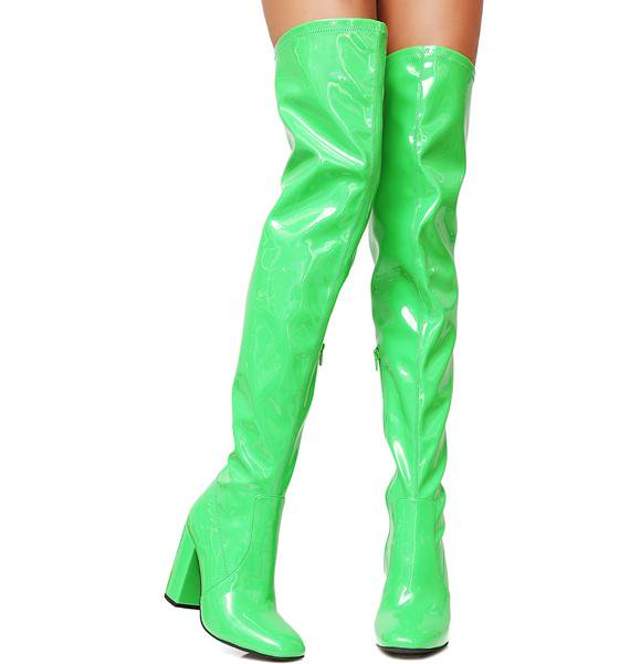 Sexy Party Shoes Woman Over The Knee Boots Girls Fancy Dress High-Heel