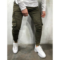 New Fashion Trend Men Casual Slim Skinny Fit Sport Long Pencil Pant Bottoms