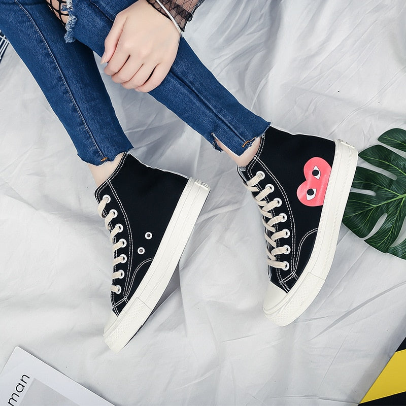 Women Sneakers Fashion Lace-up Solid Sewing Shallow