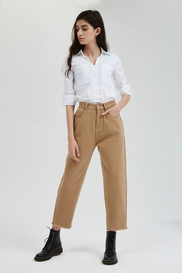 New Stylish Solid Casual Women's Pants