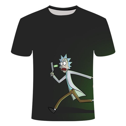 Rick and Morty By Jm2 Art 3D t shirt Men