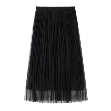 Sexy Tulle Skirts New Arrival Women Fashion Summer Skirts Double Layer