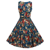 Women's Vintage Boho Spring Vintage Country Rock  Dress Best Selling