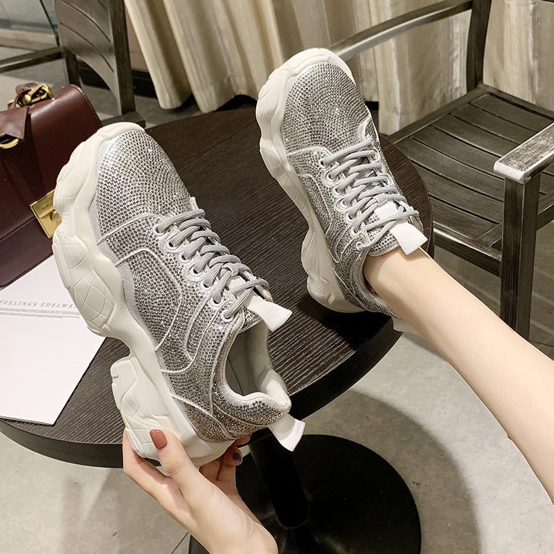 Women Casual Shoes Fashion Trend  Rubber Sneakers