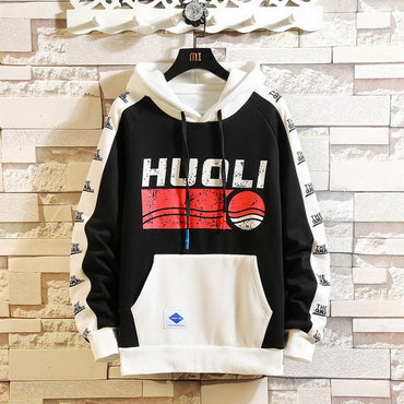 Autumn Spring 2019 Hoodie Sweatshirt Mens Hip Hop Pullover Streetwear Casual Fashion Clothes  Plus Asian Size M-5XL