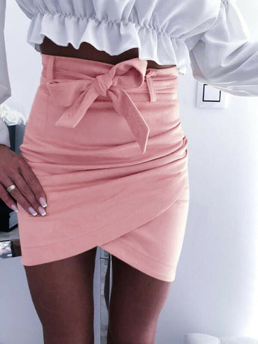 Fashion Womens Mini Skirts Sexy Bandage Clubwear High Waist
