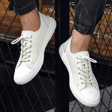 Quality Leather Casual Shoes Fashion Sneakers