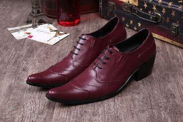 Dress Shoes Man Pointed Toe Business Shoes