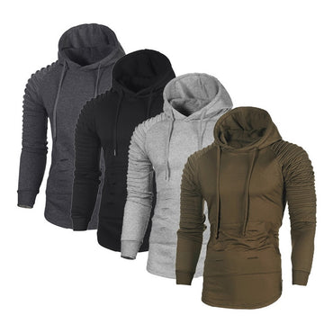 Warm Sweater coat Fleece Coat Men's Hooded Sweatshirt