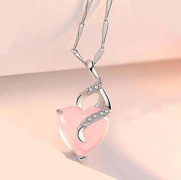 New Arrival Heart Opal Necklaces