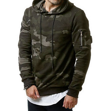 New Fashion Sweatshirt Camo Hoody Hip Autumn Winter Military Hoodies