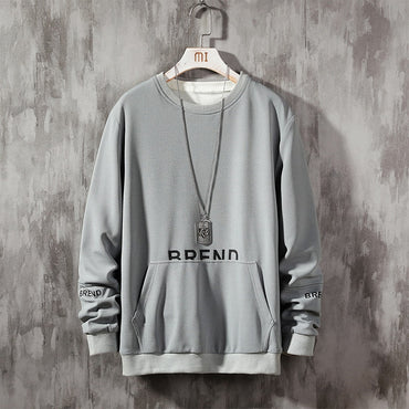New Autumn Winter Fashion Letter Loose Top Hoodies