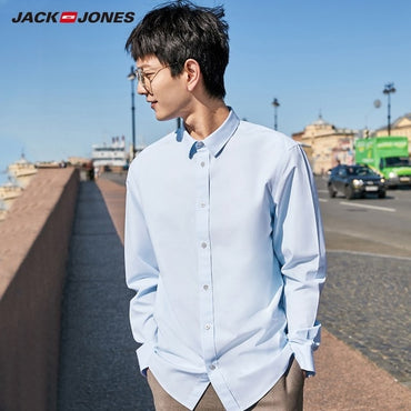 smart casual 100% cotton Non-Iron fabric shirt
