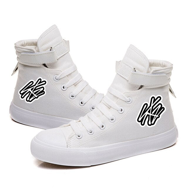 Stray Kids Sneakers Canvas  Casual Shoes