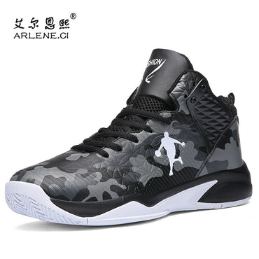 Fashion Men's High Top Vulcanized Shoes Breathable Jordan Shoes Cushion Sneakers Boys Outdoor Anti-skid Casual Shoes Men Size 45
