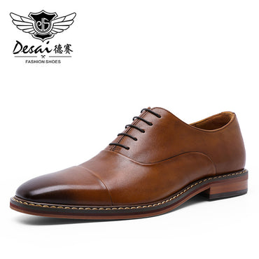 Formal Luxury Party Wedding Real Genuine Leather Shoes
