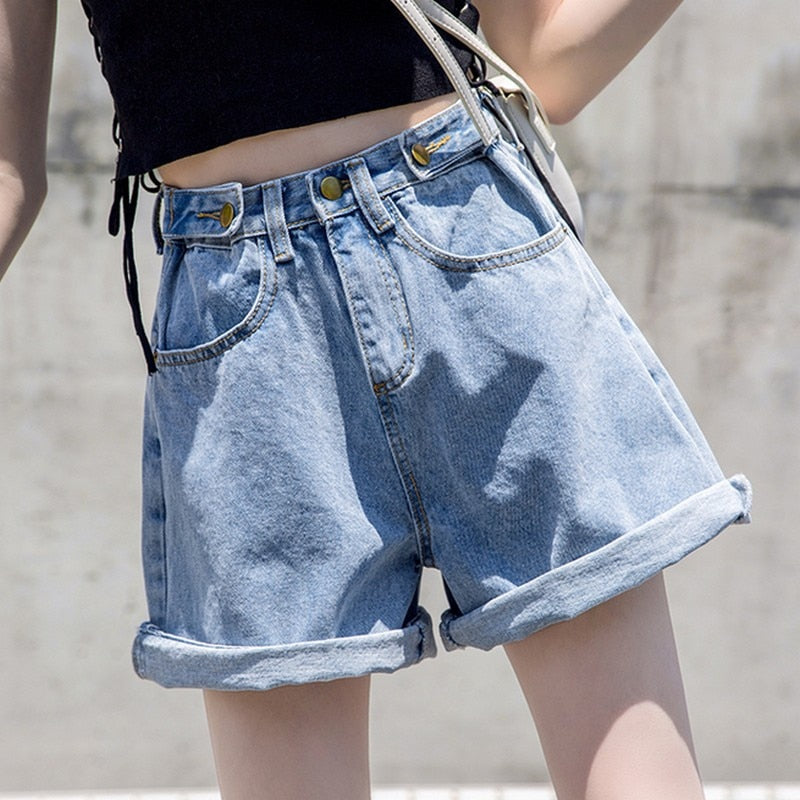 Women's Shorts High Waist Shorts