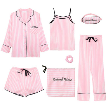 Women's 7 Pieces Pajamas Sets