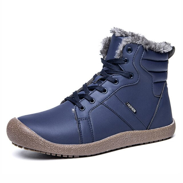 Winter Waterproof Warm Fur Snow Boots