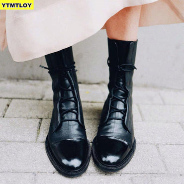 New 2020 Winter Thick With Thick Bottom British Locomotive Martin Boots For Cylinder Knight Ladies Boots
