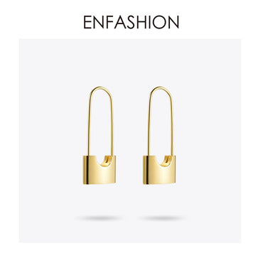 Wholesale Lock Earrings Dangle Earring Rose Gold color