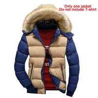 New autumn and winter men's casual fashion cotton jacket