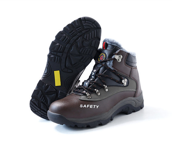 Fashion new style Mens Steel Toe Work Safety Anti-static Protective Boots