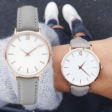 Fashion Simple Women Watches Woman Ladies