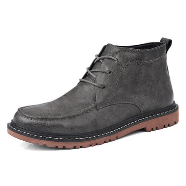 New Arrival Men's Vintage Ankle Boots Autumn Winter