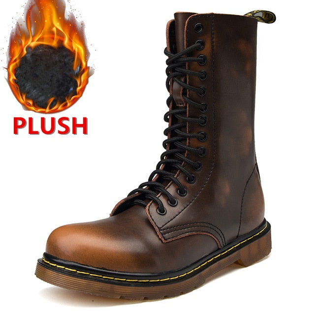 Brand New Winter Unisex High Top Desert Tactical Military Boots