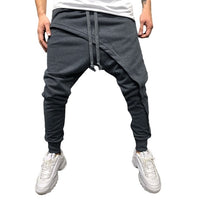 New Men's Pants Boys Spring Winter Joggers Solid Patchwork