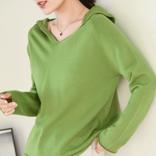 Autumn winter new women sweaters and pullovers long sleeve