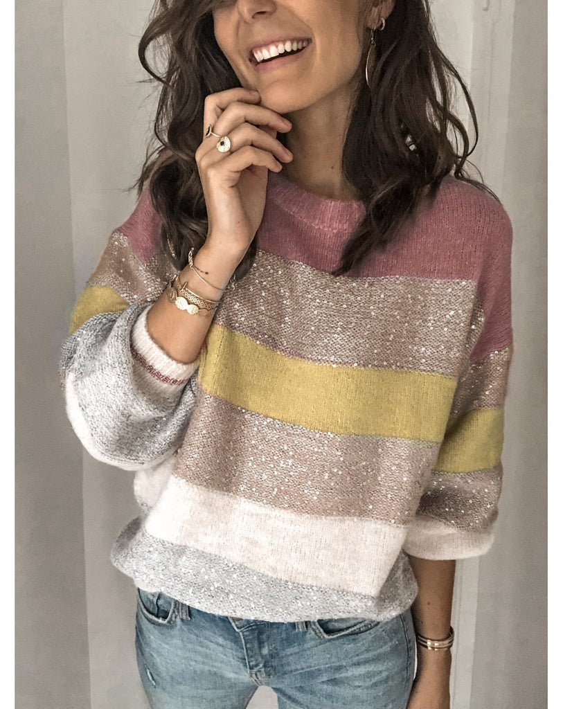 Loose Casual Knit Sweater Women Autumn Winter