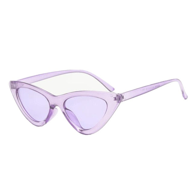 Sunglasses Women New Fashion Cute Sexy Ladies Cat Eye