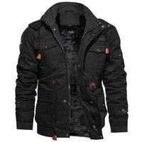 Jacket Men Thick Warm Military Bomber Tactical