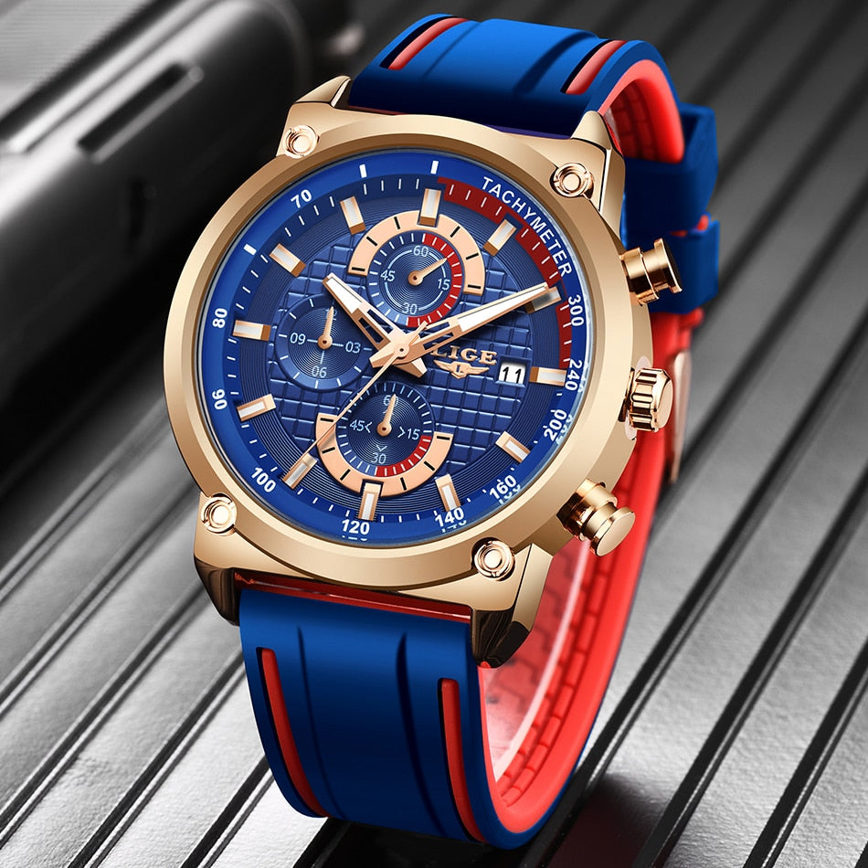 New Mens Watches Top Brand Luxury Dial Clock Male
