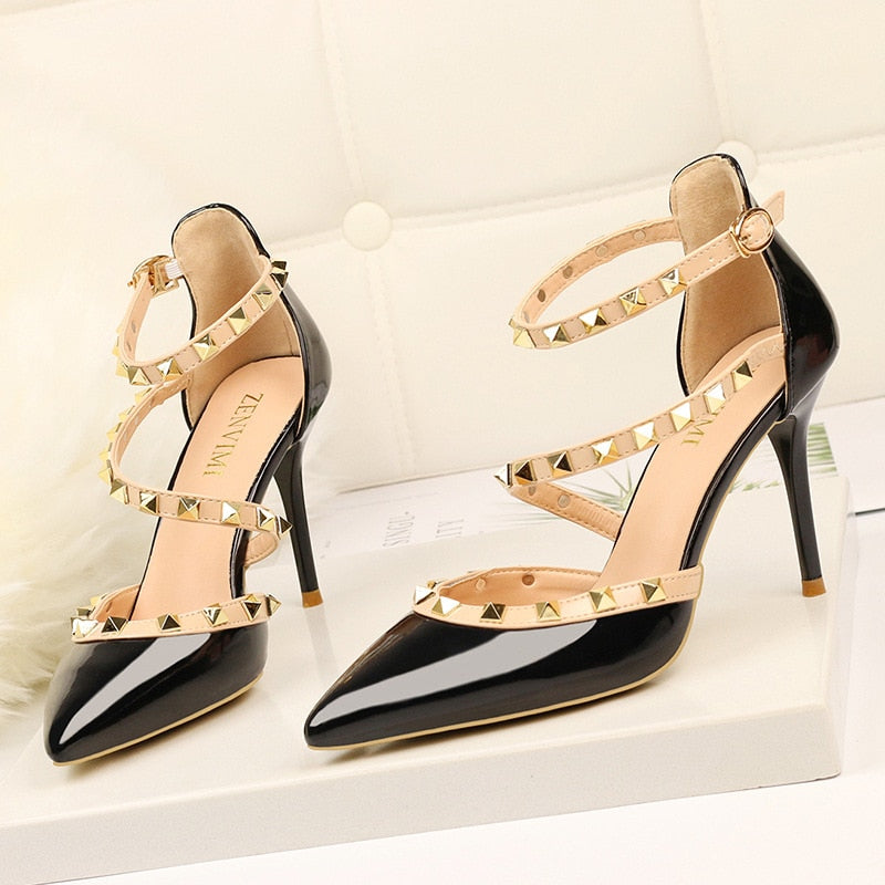 High Heels Women Pumps Thin Heels Ladies Shoes