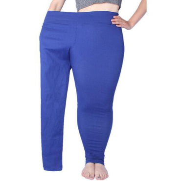 New High Stretch Women Pants Cotton Ladies Pencil Pants High Waist