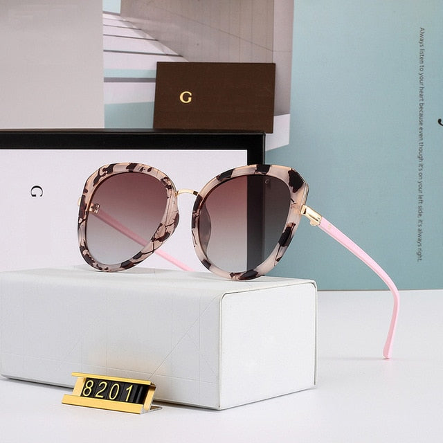 New Cat eyes Sun glasses Oversized Glasses Luxury Polarized Sunglasses Woman