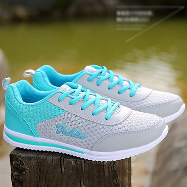New Woman Casual Shoes Breathable Women Sneakers Shoes Mesh