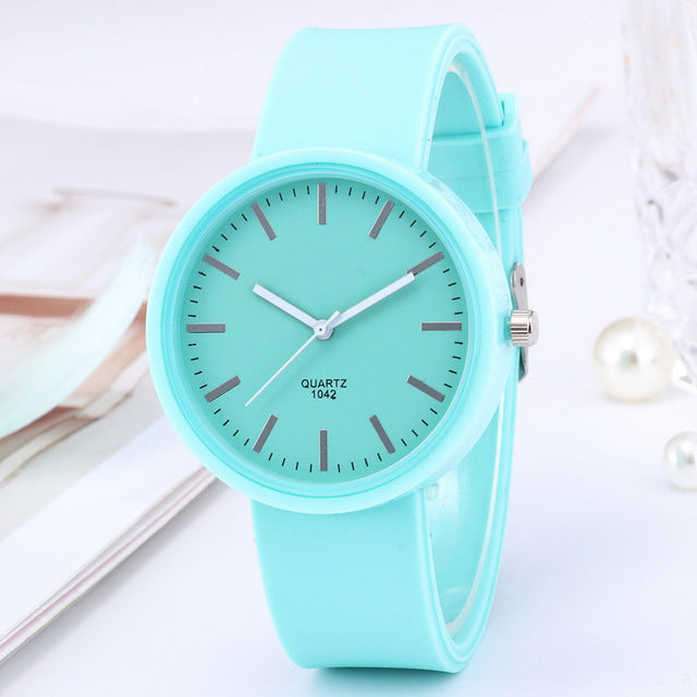 New Fashion Women's Watches Ins Trend Candy Color Wrist