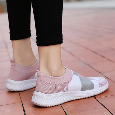 Sneakers women shoes new fashion lightweight knitted casual