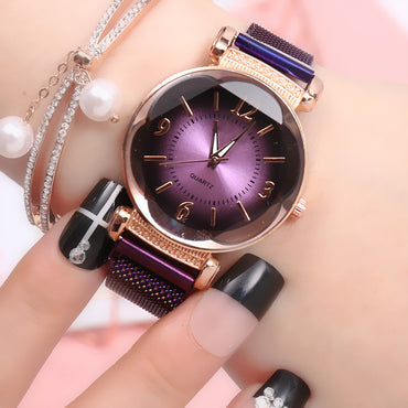 Women Watch Fashion Wild New Watch Magnet Buckle Luxury