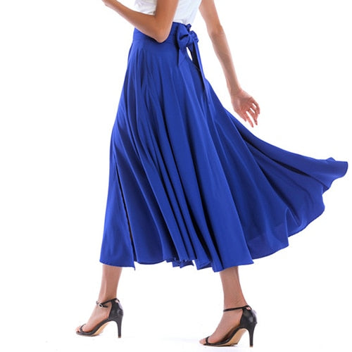 2020 New Fashion  Women Long Skirt Casual Spring  Summer