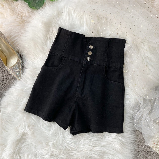 Summer hot shorts 2020 women slim shorts casual denim sexy