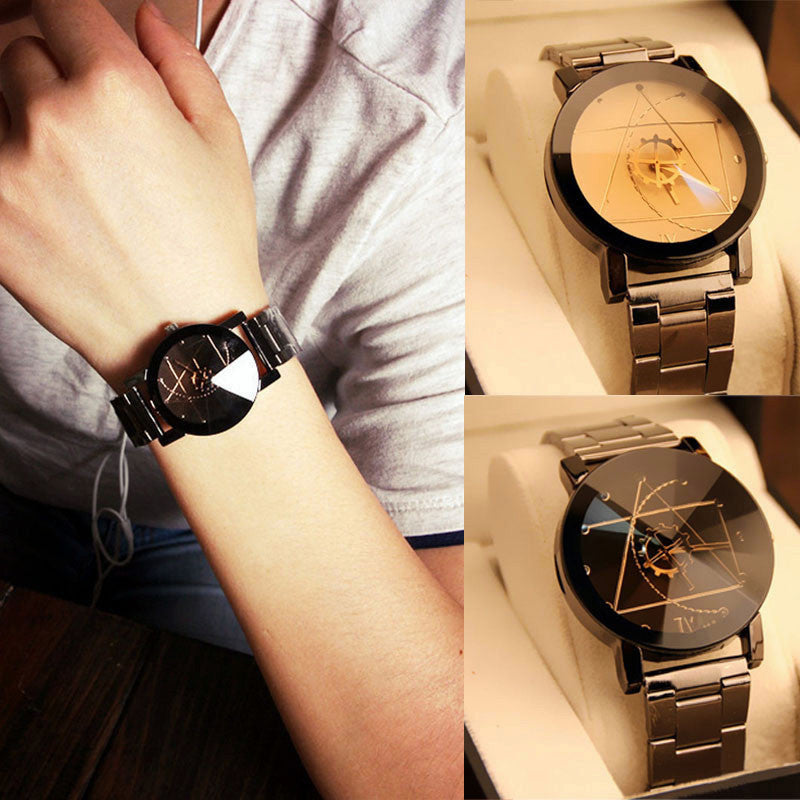 Couple's Watch Men Women Watch Stainless Steel