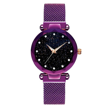 Women Magnet Starry Buckle Luxury Casual Watch