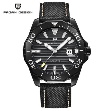 Men's Military Sport Mechanical Watches Waterproof Stainless Steel
